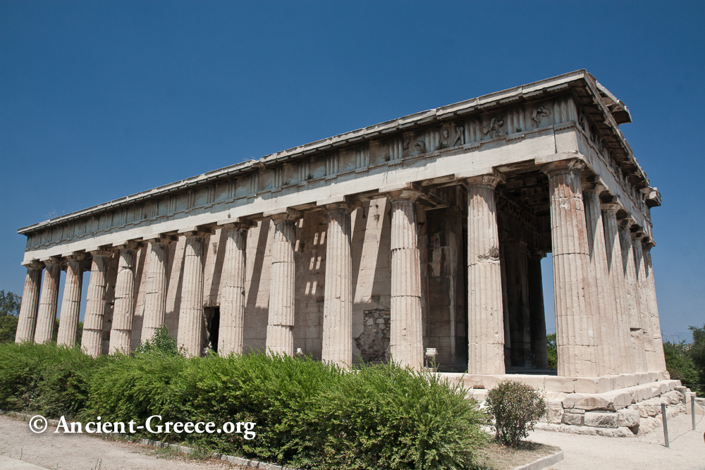 Photo Gallery Of The Agora Archaeological Site