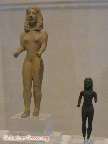 a history of the transformation of the greek kouros from the archaic to the hellenistic Archaic greece was the period in greek history lasting from the eighth century bc to the second persian invasion of greece in 480 bc, following the greek dark ages and succeeded by the classical period.