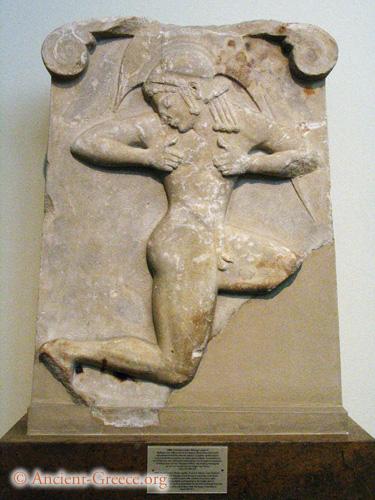 Stele With Hoplite