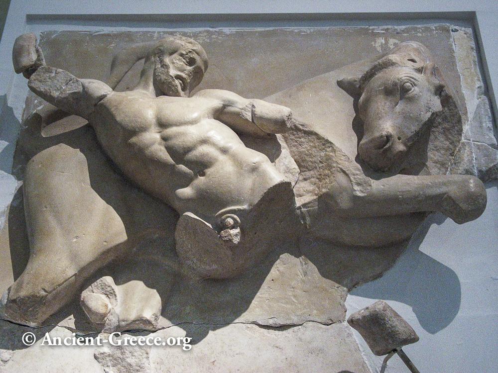 Zeus Bull Olympia Museum